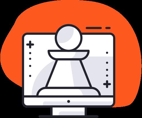 Stratégie digitale logo