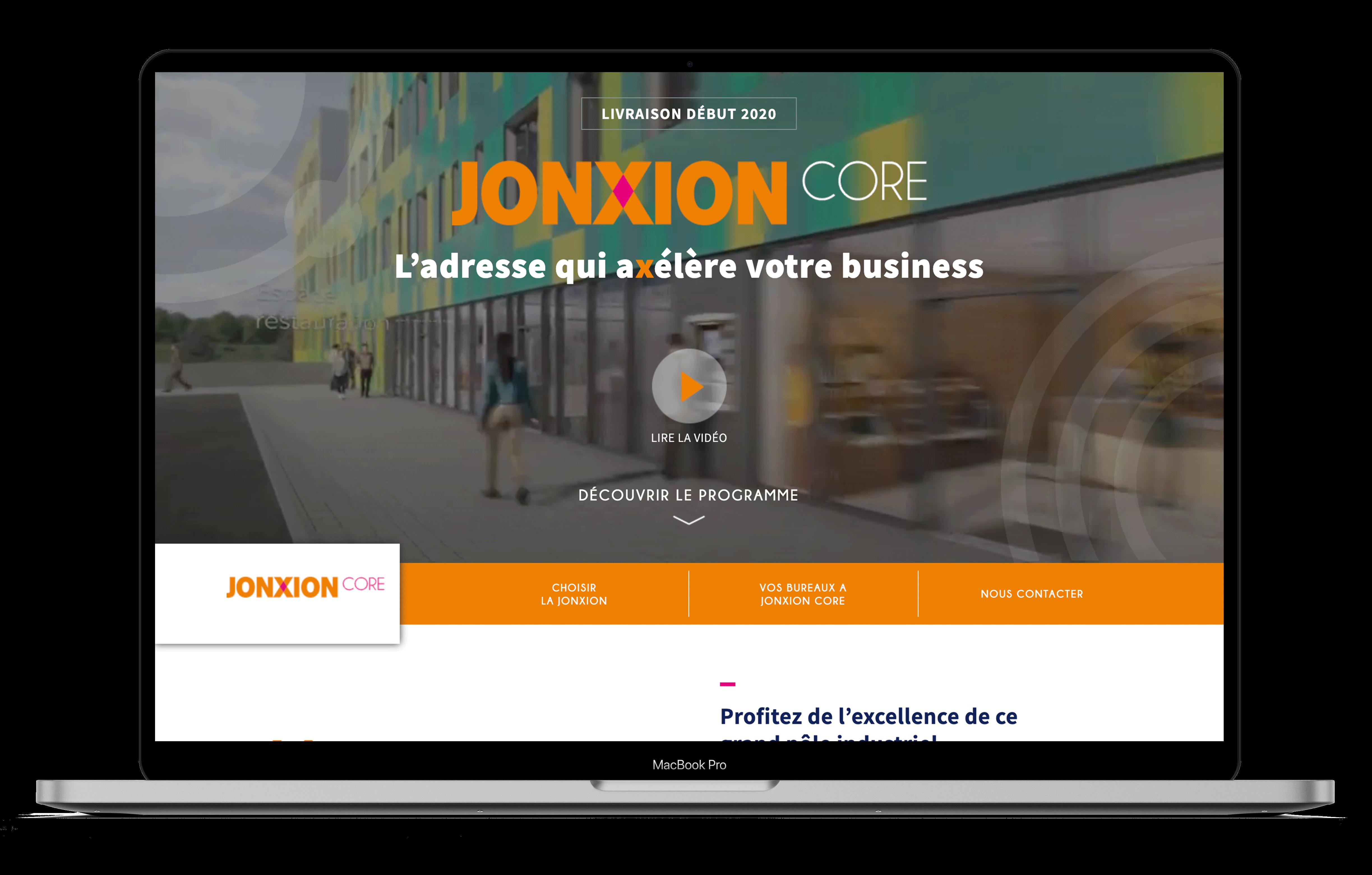 Jonxion mockup web